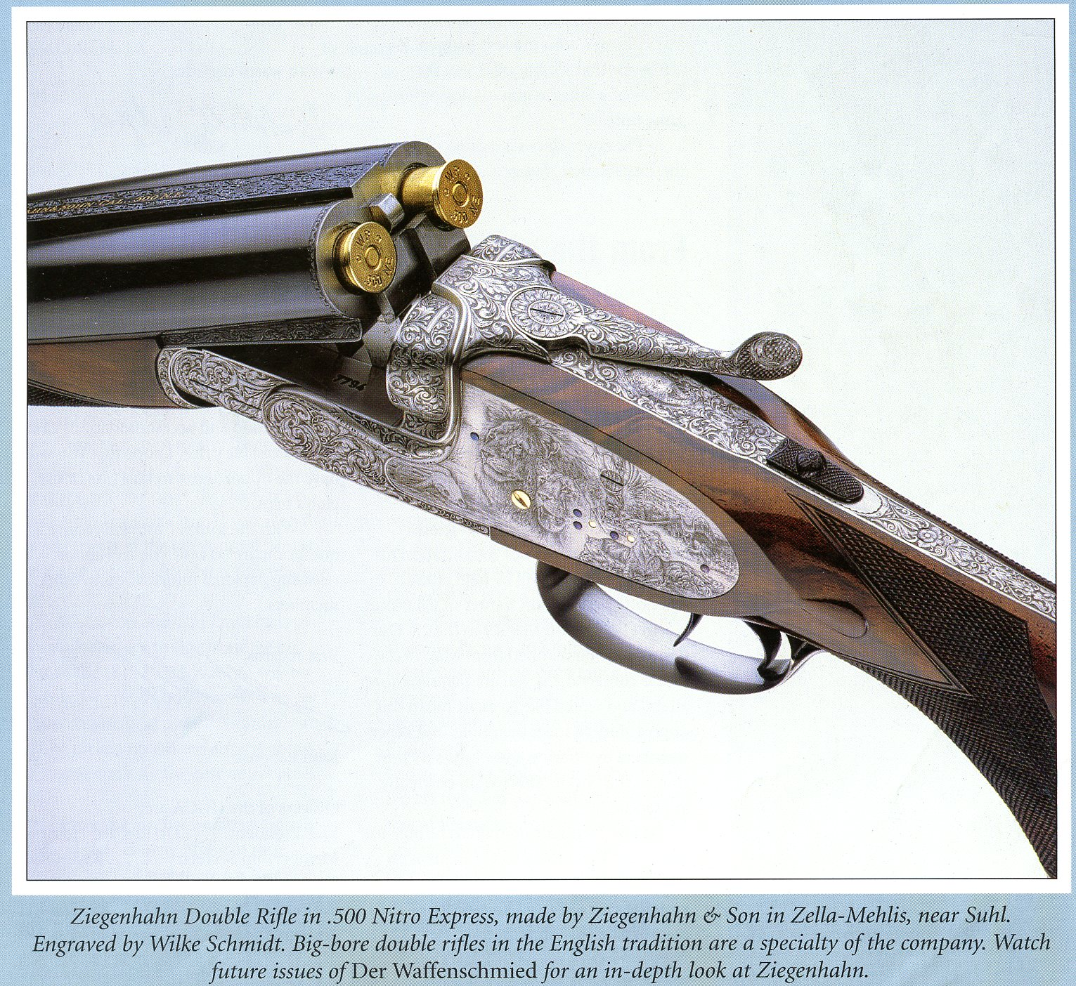 A Study of German Engraving & Engravers – German Hunting Guns